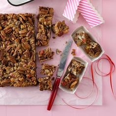 Candied Fruitcake Squares Recipe -Even people who don't like traditional fruitcake ask for this recipe. — Nancy Johnson, Laverne, Oklahoma
