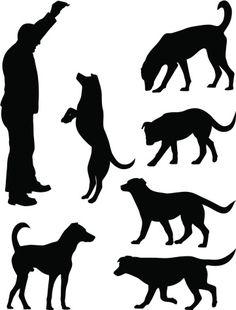 Vectores libres de derechos: Dogs