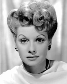 Lucy was my idol growing up! Lovely entertainer! She was funny, smart and oh so pretty!