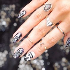 These ARE the nails you're looking for! We're loving this Star Wars theme from Disney Inspired