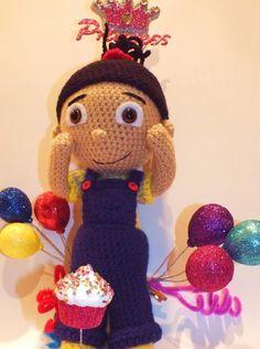 Free Crochet Agnes Doll Crochet Pattern