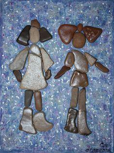 """Купить Картина из серии Подиум """"Валяные наряды"""" - голубой, модное платье, модница, модная одежда"""