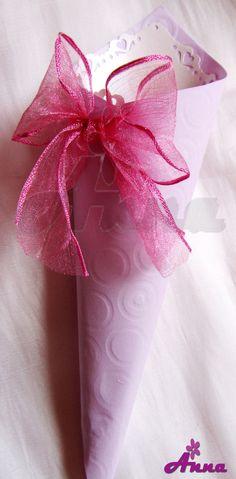 Coni riso Lilla e rosa