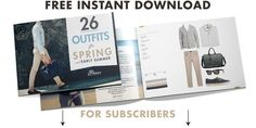 A Free Download of Our Essential Spring Lookbook