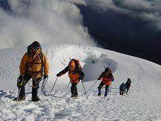 Cotopaxi Volcano, climbing in the andes