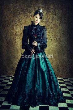 Lady Steampunk by ozzzywoman Steampunk, Goth, Victorian, Lady, Dresses, Style, Fashion, Gothic, Vestidos