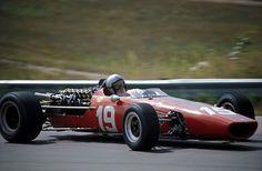 Bruce McLaren, McLaren-BRM M5A, 1967 Canadian Grand Prix, Mosport.