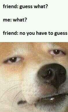 Haha I'm that friend