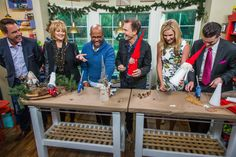Ken Wingard shows you how to add some festive and crafty decorations to your front yard this holiday season.