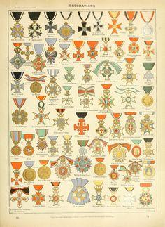Nouveau Larousse illustré : Décorations