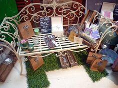 Bench display, 77-78 Marylebone High Street, London W1U 5JX, Image by Homegirl London