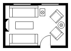 Have you considered the layout options for your master bedroom floor plans? Interior sites are great for how rooms look but read this first to make sure your master bedroom layout is right. Master Bedroom Plans, Master Bedroom Layout, Bedroom Size, Bedroom Layouts, Bathroom Layout, Best Living Room Design, Hotel Room Design, Home Office Design, Living Room Designs