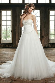 Sincerity Bridal Wedding Dresses 2012 | Wedding Inspirasi