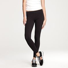 I don't care if leggings are out of style, or going out of style -- I will wear them forever.  Elastic waist?  What more could I want?  And these are the best leggings ever, will buy a few more this season.  Thanks @Sabrina Khandwalla for introducing me to these!