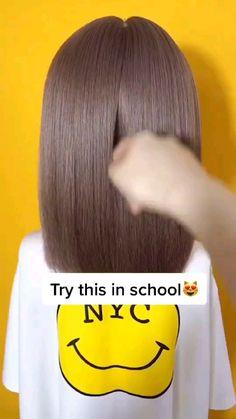 Hair Up Styles, Short Hair Styles Easy, Bride Hairstyles, Cool Hairstyles, Kawaii Hairstyles, Wacky Hair, Aesthetic Hair, Crazy Hair, Hair Day