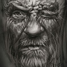 #art #portrait #pencildrawing #sketching #illustration #arte #retrato #dibujo www.facebook.com/antonio.ayala.castejon.oficial #leejeffries #hobo #homeless