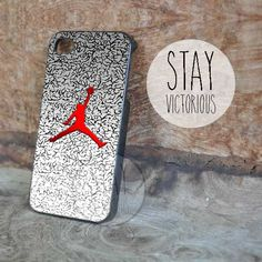 Michael Jordan Nike Logo - iPhone 4/4s/5 Case - Samsung Galaxy S3/S4 Case