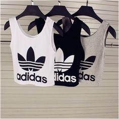 Adidas Women Shoes - Tank top: adidas sports top adidas wings adidas sports bra crop tops blouse adidas crop top top - We reveal the news in sneakers for spring summer 2017 Mode Outfits, Sport Outfits, Summer Outfits, Casual Outfits, Fresh Outfits, Dress Summer, Casual Wear, Winter Outfits, Adidas Shoes Outfit