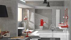 Pequeños detalles que crean espacios cálidos: #Radiadores y #Secatoallas para #baño de Noken, la marca de equipamiento de baño de Porcelanosa