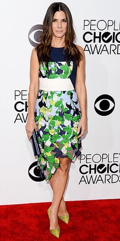 Sandra Bullock attends The 40th Annual People's Choice Awards at Nokia Theatre L.A. Live on January 8, 2014 in Los Angeles, California
