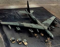 Boeing B-52 Stratofortress Model Diorama.