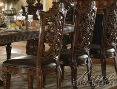 ACME 60003 Vendome Side Chair, Cherry Finish, Set of 2 by ACME. $283.14. Hevely carved seat back. Decorative legs. Decorative carving. Pevely carved seat back. The Vendome traditional dining collection celebrates a double pedestal dining table, oversized upholstered chairs, all accented by decorative base and feet. Matching China and buffet reflects all carefully selected design features as the dining collection.. Save 46% Off!