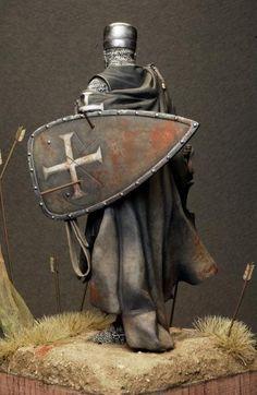 Knight Hospitaller, 1203~1204 (Pegaso Models. 90mm) | planetFigure | Miniatures
