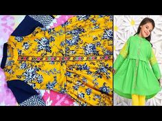 Frock Design, Simple Girl, Skirt Fashion, Frocks, Stitching, Blouse, Skirts, Youtube, Baby