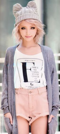 """""""There is no change without change of mind."""" I love what it says on the shirt. [ castleofpoems.tumblr.com ]"""