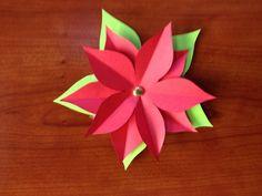 Paper Poinsettia