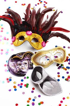 Maschere di Carnevale fai da te - Come realizzarle