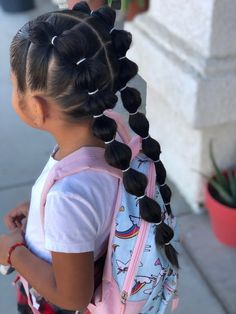 Hairstyles for School 17 Fun & Easy Back-to-School Hairstyles for Girls . - Hairstyles for School 17 Fun & Easy Back-to-School Hairstyles for Girls … – - Easy Little Girl Hairstyles, Cute Hairstyles For Kids, Kids Braided Hairstyles, Hairstyles For School, Anime Hairstyles, Stylish Hairstyles, Hairstyles Videos, Hairstyles Pictures, Simple Hairstyles