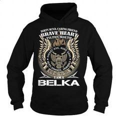 BELKA Last Name, Surname TShirt v1 - #gift card #shirt ideas