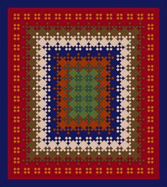 Blooming Nine Patch Quilt Pattern | Autumn+Breeze-Blooming+9-patch+86+x+96.JPG