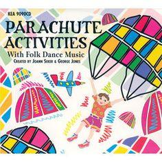 PARACHUTE ACTIVITIES with FOLK DANCE MUSIC