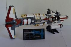 Lego Star Wars UCS Hammerhead Corvette-Star Wars by JorstadLego