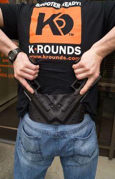 K Rounds LLC Pistol Handgun Holster @aegisgears