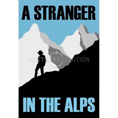A Stranger In the Alps Movie Poster $3.80 #poster #funny #biglebowski