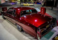 "'84 Cadillac Coupe Deville~ ""eyes without a face"""