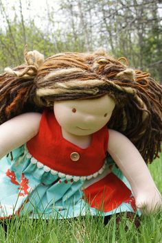 Poppy's waldorf doll ♥