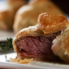 Filet Wellington Bites - Perfect for a Special Dinner like Valentine's Day. Bite-size Heaven!