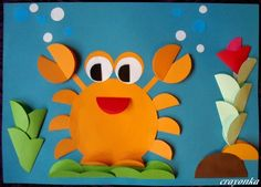 Easy diy crafts for kids entertaining and easy paper craft projects for kids home improvement near . easy diy crafts for kids Crab Crafts, Easy Paper Crafts, Bunny Crafts, Craft Projects For Kids, Paper Crafts For Kids, Easy Diy Crafts, Paper Crafting, Arts And Crafts, Diy Paper