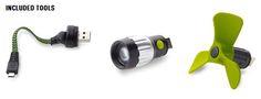 El objetivo del Zero Switch 10 USB Kit de herramienta multiusos: All-In-One Power, es ser la solución para tu aventura al aire libre. Tuvie | http://www.tuvie.com