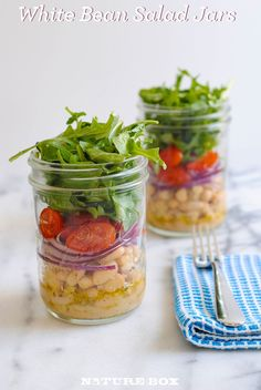 Who says salads can't make you feel full? In this super simple recipe, we  cannellini beans make for a substantial ingredient and pairs well with  peppery arugula and bright grape tomatoes.