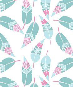 Alice Potter is a freelance surface pattern designer & illustrator based in London. She makes bold surface patterns, illustrations and childrenswear Pattern Texture, Surface Pattern Design, Pattern Art, Pattern Fabric, Textile Patterns, Print Patterns, Textiles, Feather Pattern, Feather Print