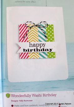 Simplicity: Riffing on Card Creations: Inspired by Kelly Rasmussen