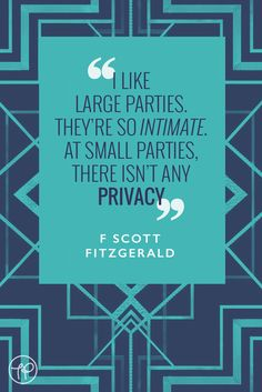 The Pool | Life - Today I'm Channelling F Scott Fitzgerald
