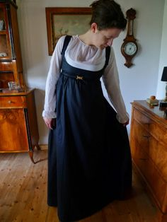 Regency Dress, Regency Era, Historical Costume, Historical Clothing, Morning Dress, 18th Century Costume, Late Modern Period, Period Outfit, Empire Style