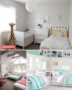 Partager une chambre d'enfant : les lits jumeaux