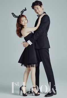 Kim Young Kwang and Park Bo Young Beaming with Couple Cuteness in Look Pictorial